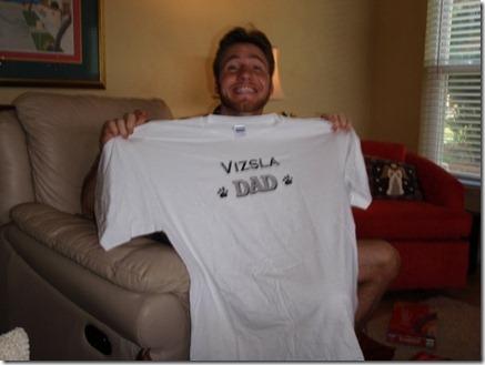 vizsla dad shirt