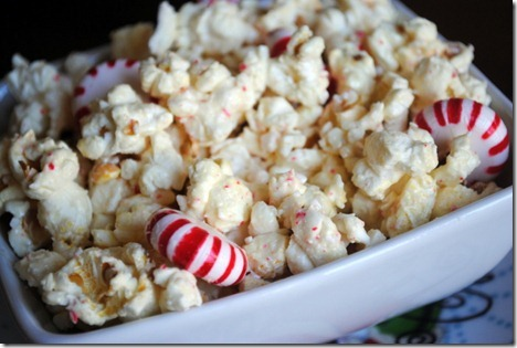 White chocolate peppermint popcorn 015