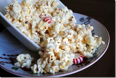 White chocolate peppermint popcorn 022