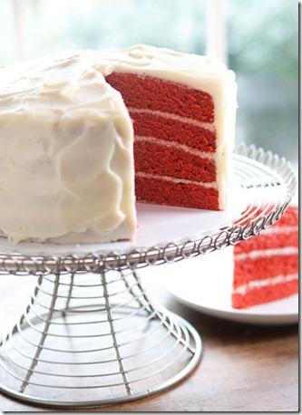 red velvet cake daisy cake