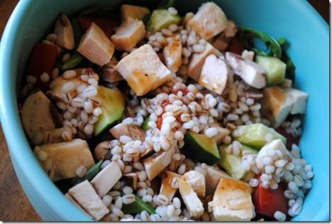 salad chicken barley 005