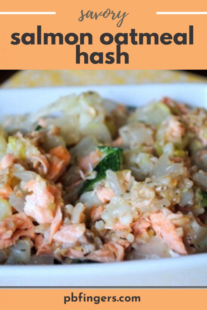 Savory Salmon Oatmeal Hash