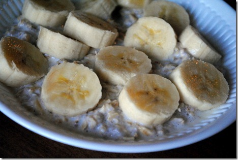 overnight oats with banana