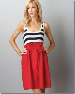 red white blue dress