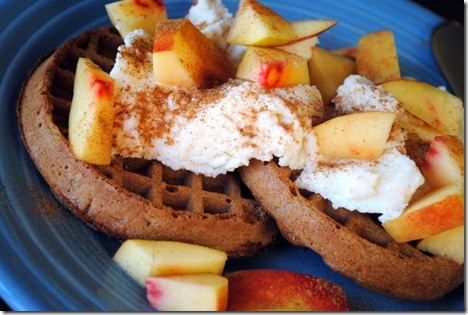 waffles with ricotta 029
