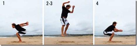 180 degree squat jump