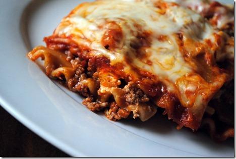 lasagna noodles