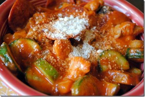 veggies marinara