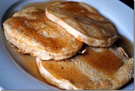 banana protein pancakes 011
