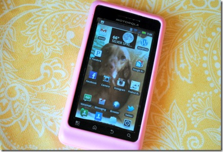 pink phone cover droid