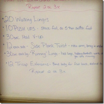 whiteboard workout