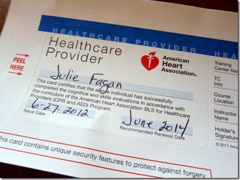 CPR certification 023