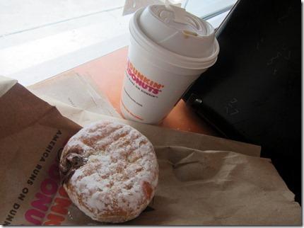 dunkin donuts chocolate kreme filled