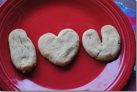 peanut butter cookies i love you
