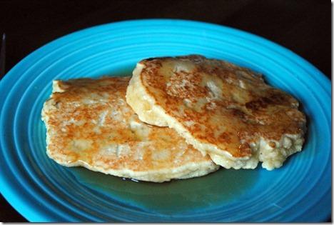 cashew butter pancakes 009