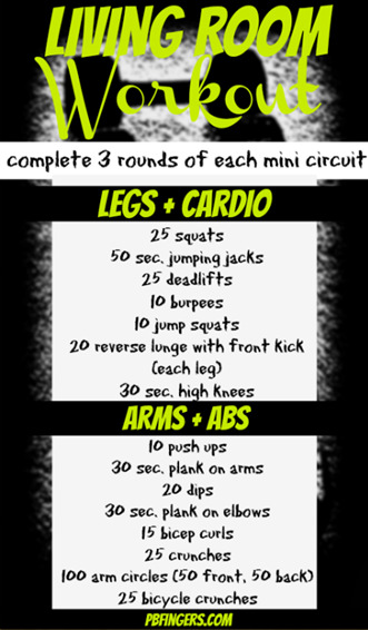 living room workout