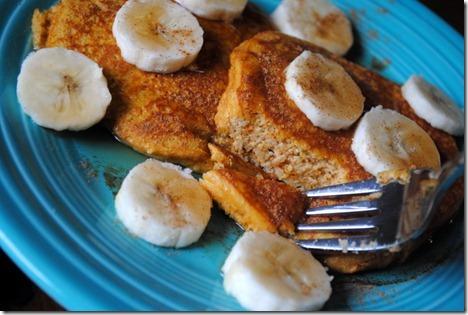 pumpkin almond pancakes 039