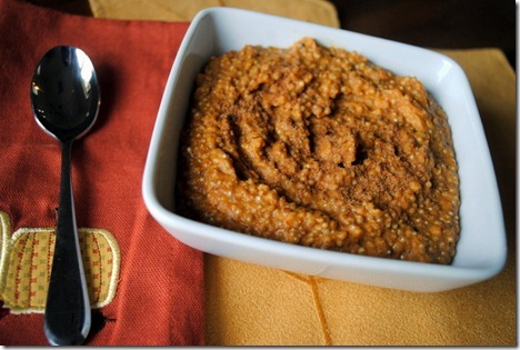 High Protein Pumpkin Breakfast Quinoa