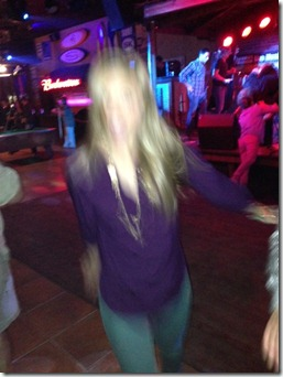 Julie Dancing