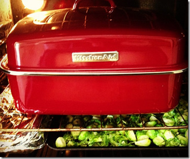 roasting turkey pan