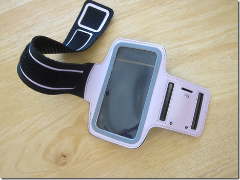 iphone 5 arm band pink