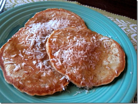 almond butter pancakes 003