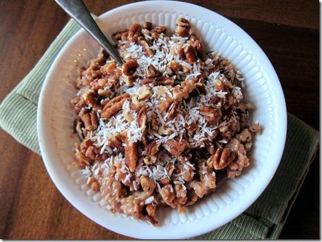 crock pot steel cut oats 006