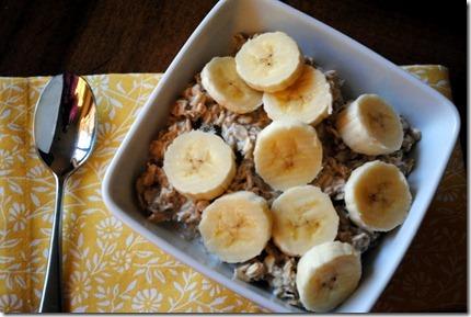 overnight banana oatmeal