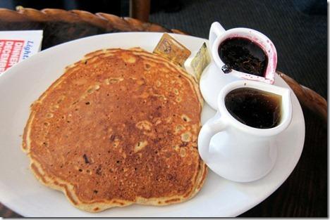 whole wheat blueberry pancakes Lighthouse Cafe