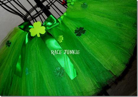 Green Running Tutu