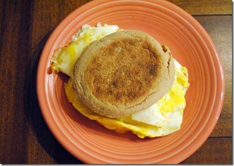 healthy egg sandwich