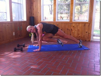 GNC HARD CORE workout plank