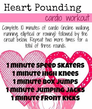 Heart Pounding Cardio Workout