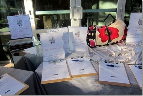Taste of Ocala Silent auction