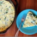 Broccoli Cheese Frittata
