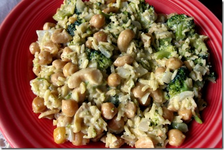 Coconut Ginger Chickpeas