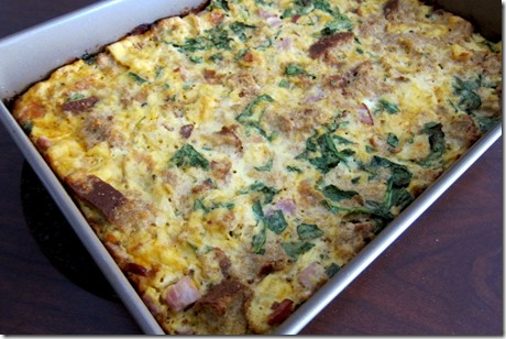 Easy and Healthy Breakfast Casserole