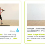 FitnessGlo Workouts