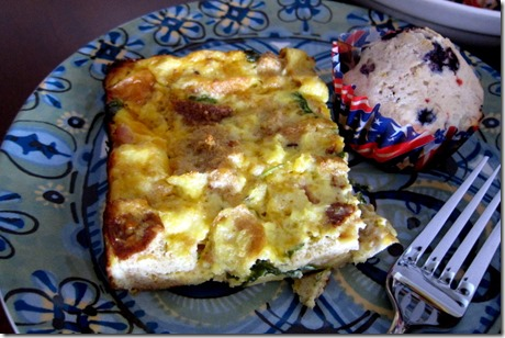 Simple and Healthy Breakfast Casserole