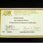 AFAA Group Exercise Certification