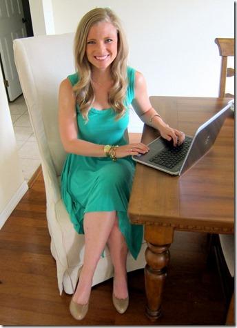 Julie Blogging