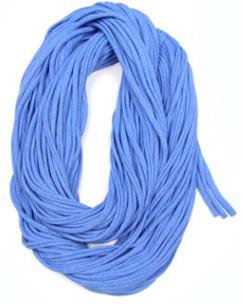 infinity scarf blue