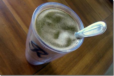spinach protein smoothie