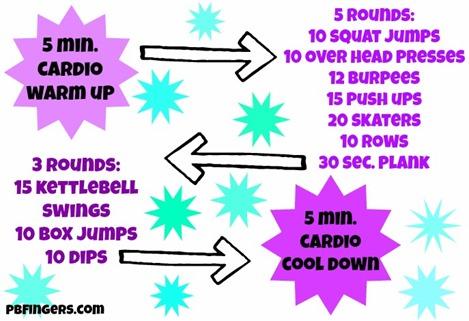 Fight Boredom Workout