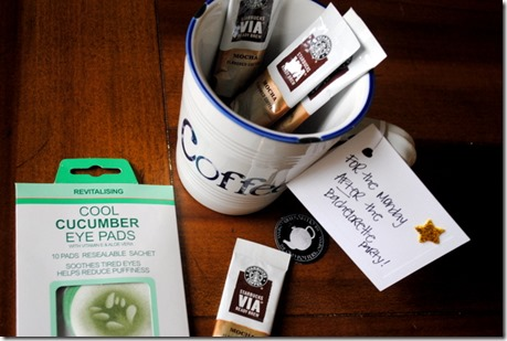 Coffee for Bachelorette Party Gift Basket
