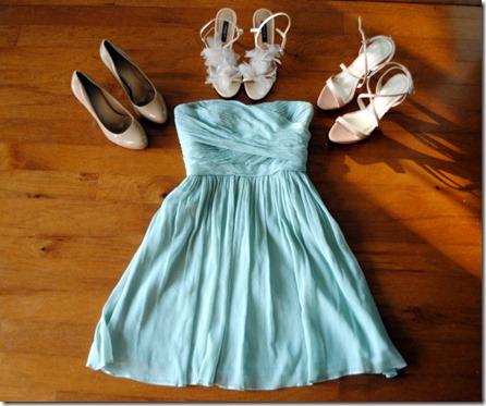 J.Crew Bridesmaid dress mint green