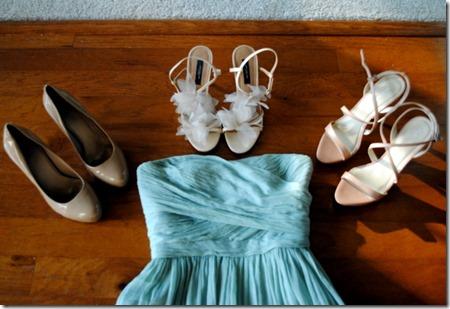 Nude Bridesmaid Shoes