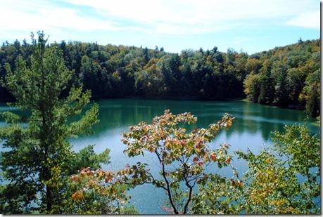 Pink Lake Gatineau Park