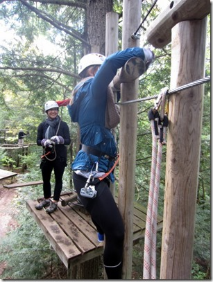 tree top obstacles canada