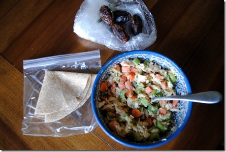 tuna salad lunch